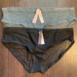 Victoria's Secret Sheer Hiphugger Panties (2)